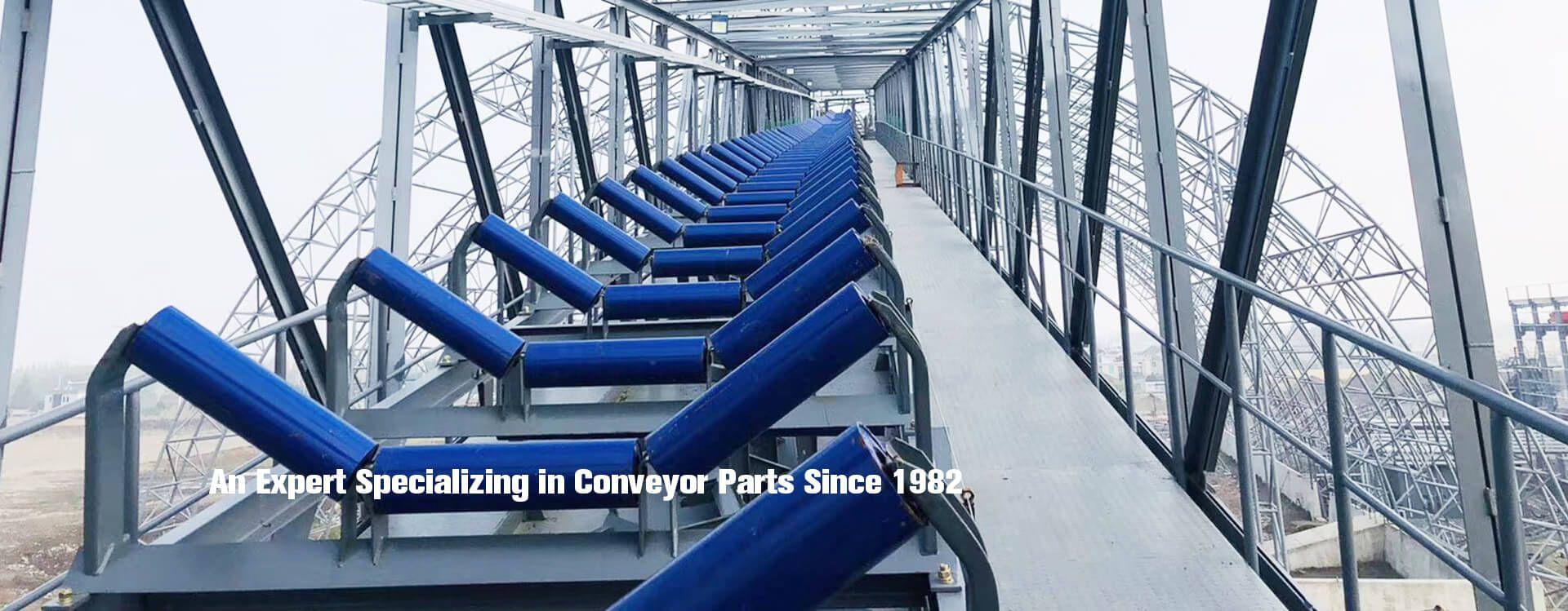 conveyor roller idler pulley frame bracket
