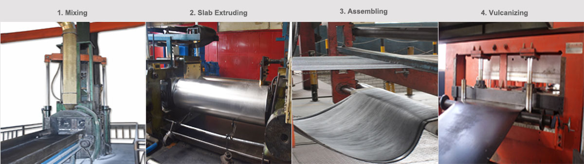 Fire Resistant Steel Cord Conveyor Belt for Coal Mine