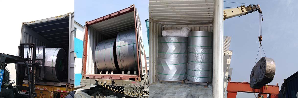 Heat Resistant Steel Cord Conveyor Belt
