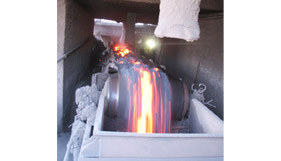 The Heat Resistant Conveyor Belt has a low service life factor in use