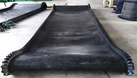 What is the Guideline for Belt Edge Types Used in Rubber Conveyor Belts?